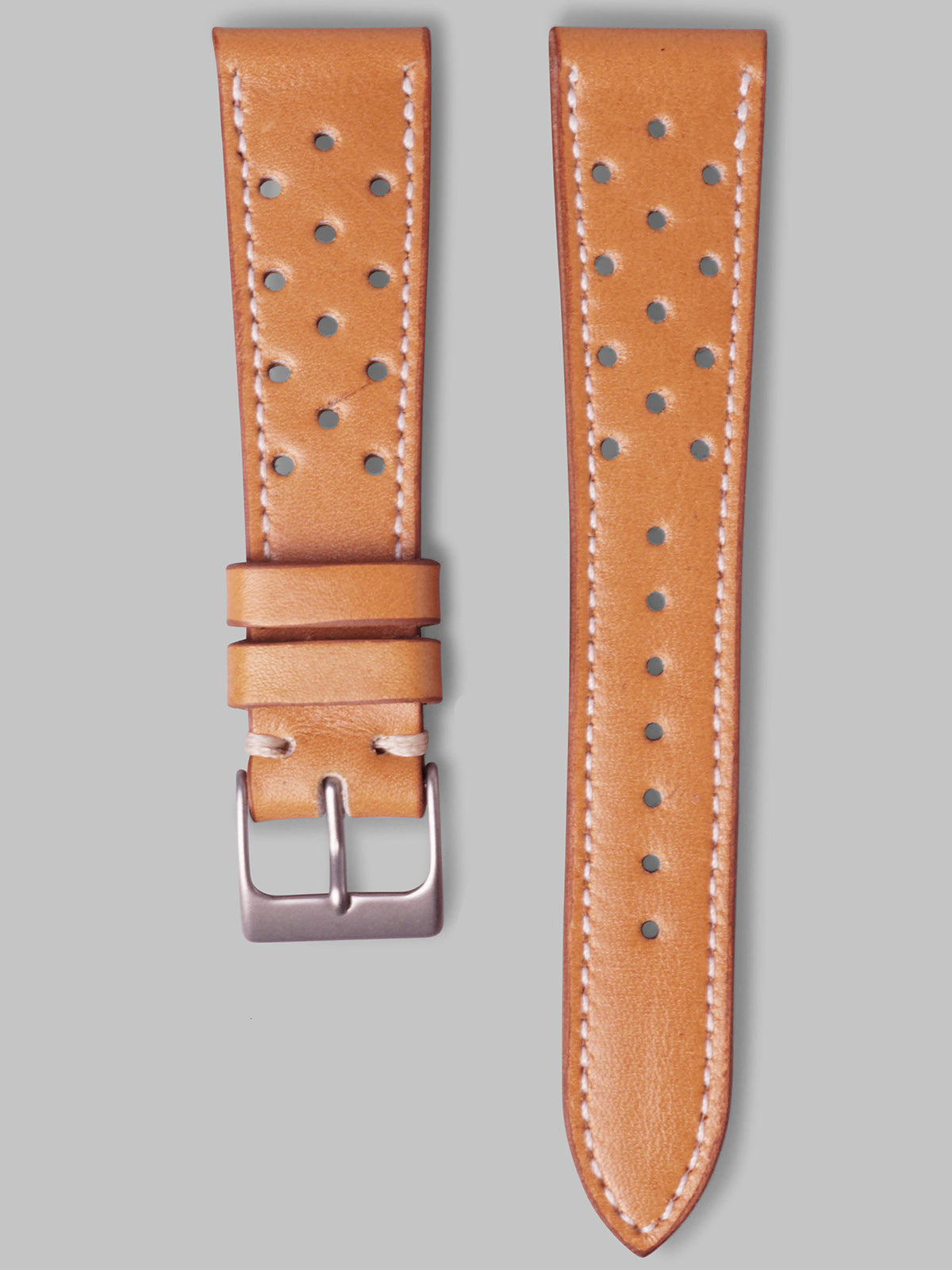 Calfskin Rally Watch Strap (Oak)