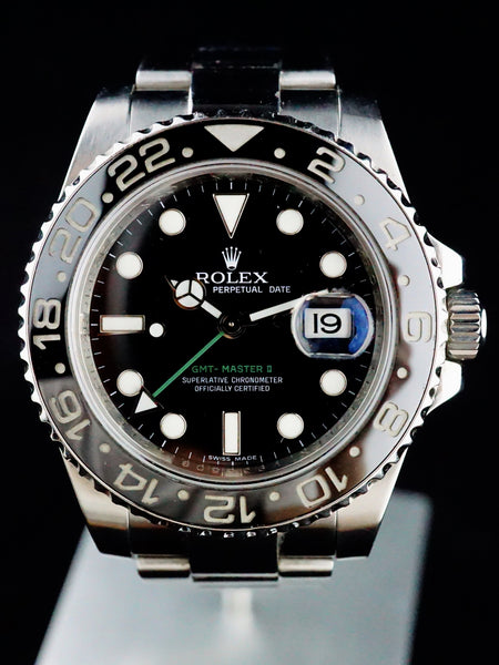 2011 Rolex GMT II 116710 with Box and Papers