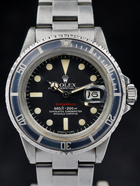 1975 Rolex Red Submariner Ref. 1680 (Mk. VI Dial)