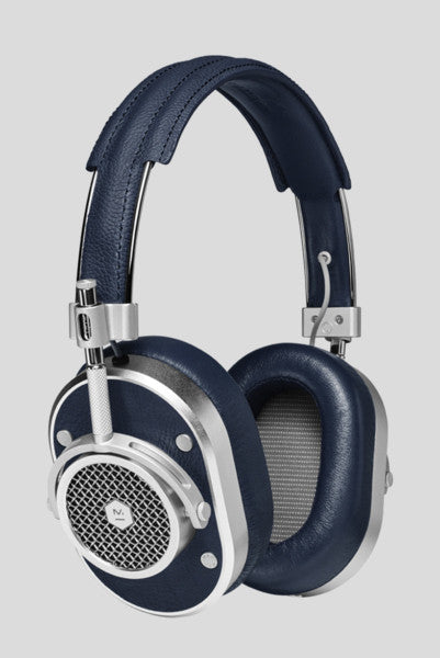 Master & Dynamic MH40 Over-Ear Headphones (Silver/Navy)