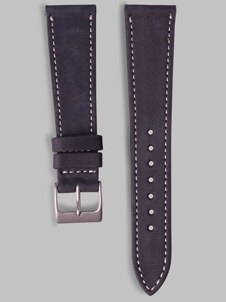 Nubuck Watch Strap (Ink)