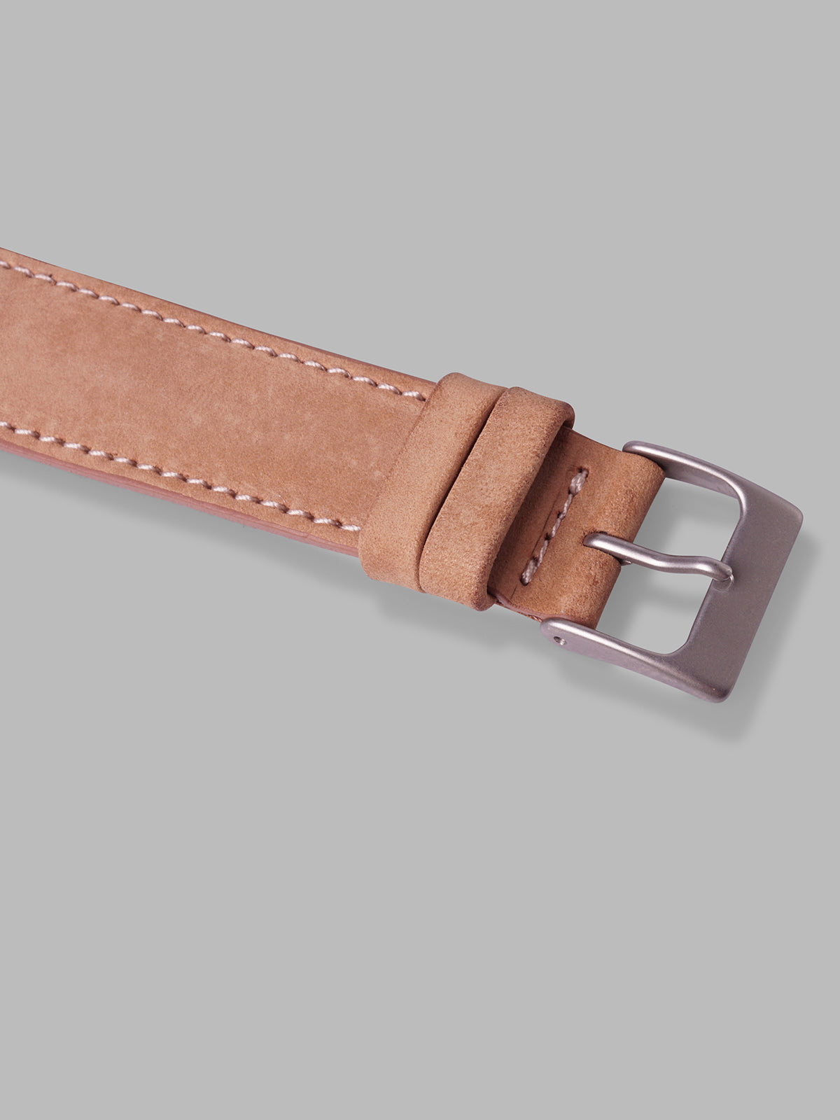 Nubuck Watch Strap (Tan)