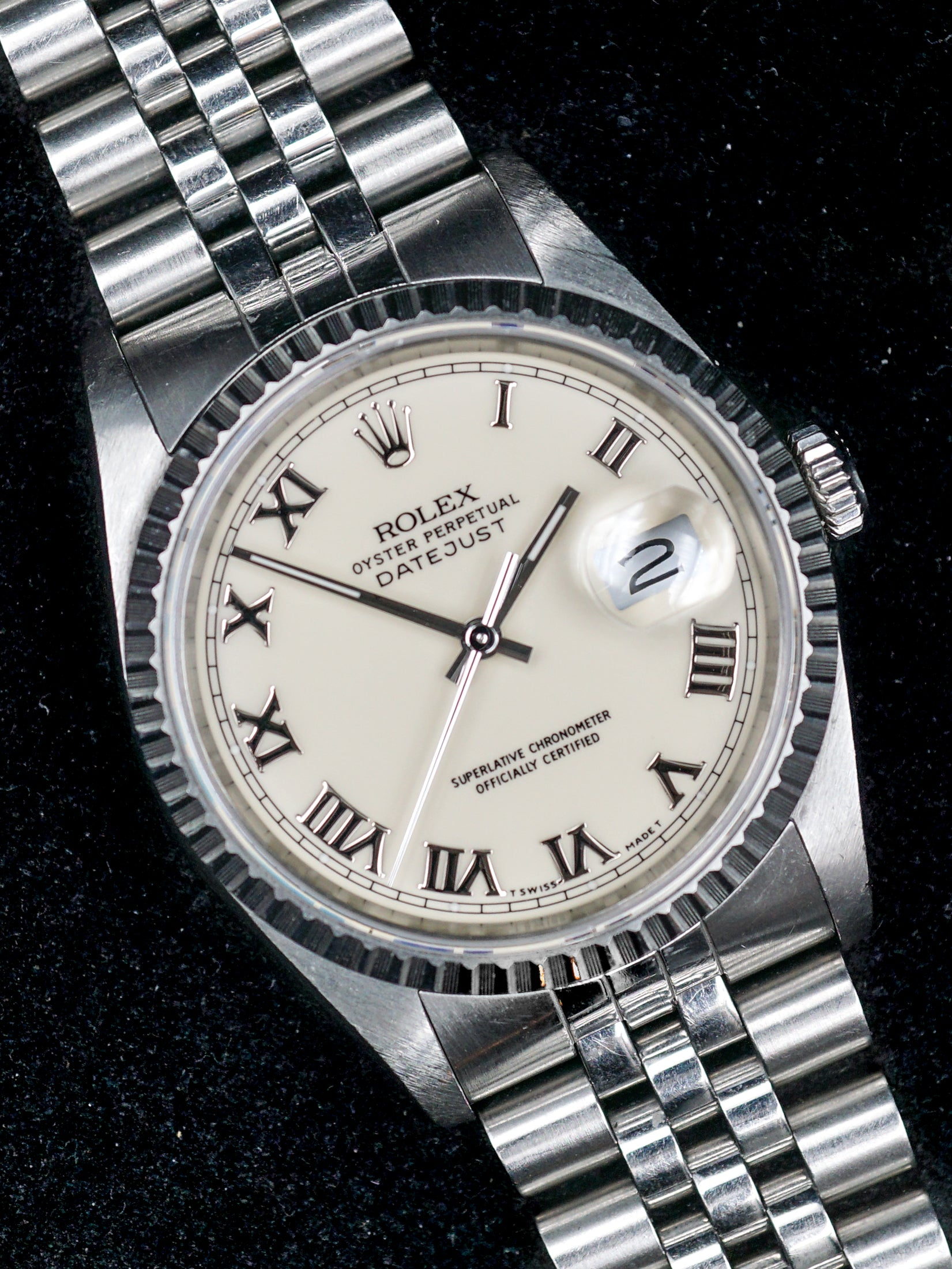 1989 Rolex Datejust (Ref. 16220) With Papers