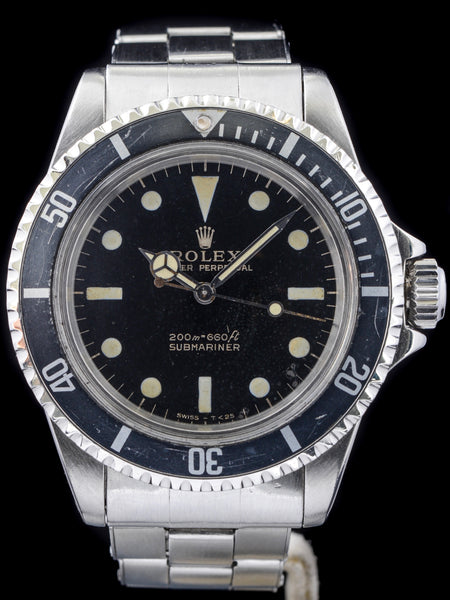 1966 Rolex Submariner (Ref. 5513) GILT