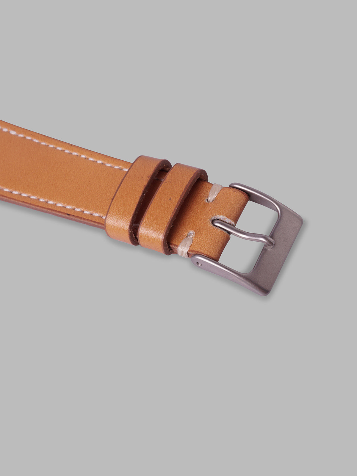 Smooth Calfskin Watch Strap (Honey)