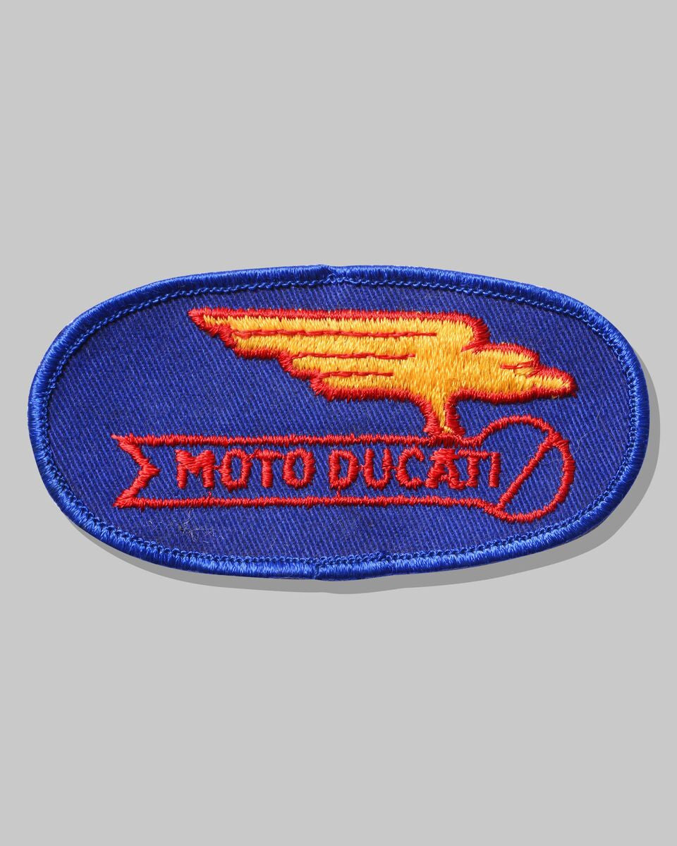Vintage 1970's Ducati Team Patch