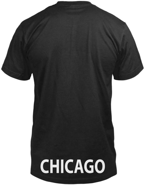Black Arched Tee