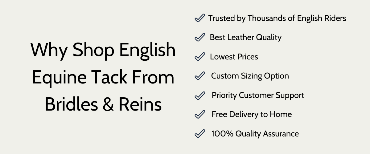 Shop English Leather tack from Bridles and Reins- Bridles and reins review