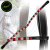 Royal Designer Alternate Large Red Tiny White Crystal U-Shaped Brow Band.