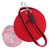 ExionPro Contrast Red & Black Color Web Cushion Leads
