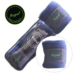 Royal Fleece Standard Purple Bandages.|Pack of 4