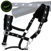 Fleece Padded Comfort Nylon Halters-Horse Halters from Bridles & Reins