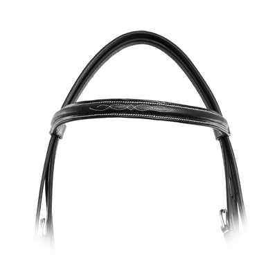 ExionPro Affordable Traditional Fancy Raised Figure 8 Bridle With Laced Reins-Bridles & Reins