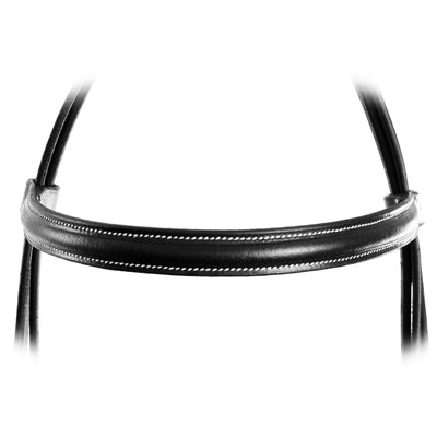 ExionPro Affordable Traditionally Raised Bridle With Laced Reins-Bridles & Reins