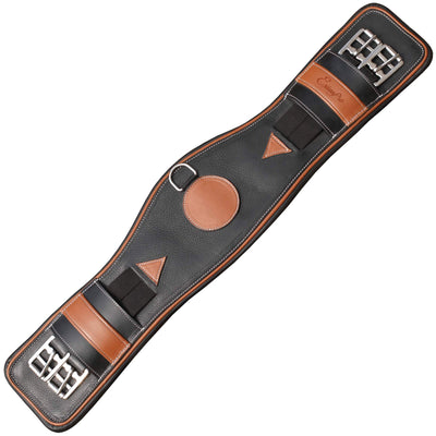 ExionPro Contrast Shade with Piping Soft Leather Dressage Girth