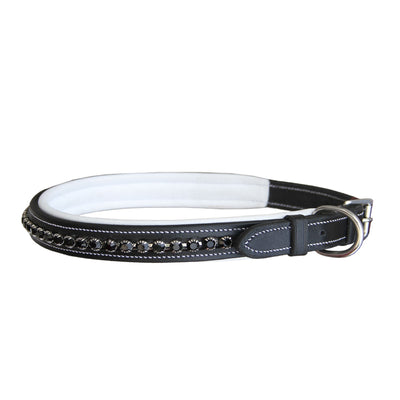 ExionPro Black Bling Dog Collar-Bridles & Reins