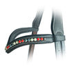 ExionPro Elegant Soft Padded Hyacinth, Jonquil, Jet Hematite Colored Crystal Browband-Bridles & Reins