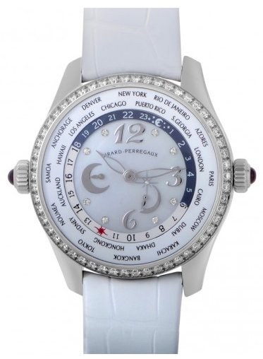 Girard Perregaux World time Pearl/Diamond