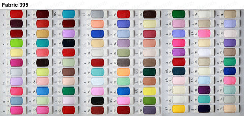 Fabric 395 Color Chart