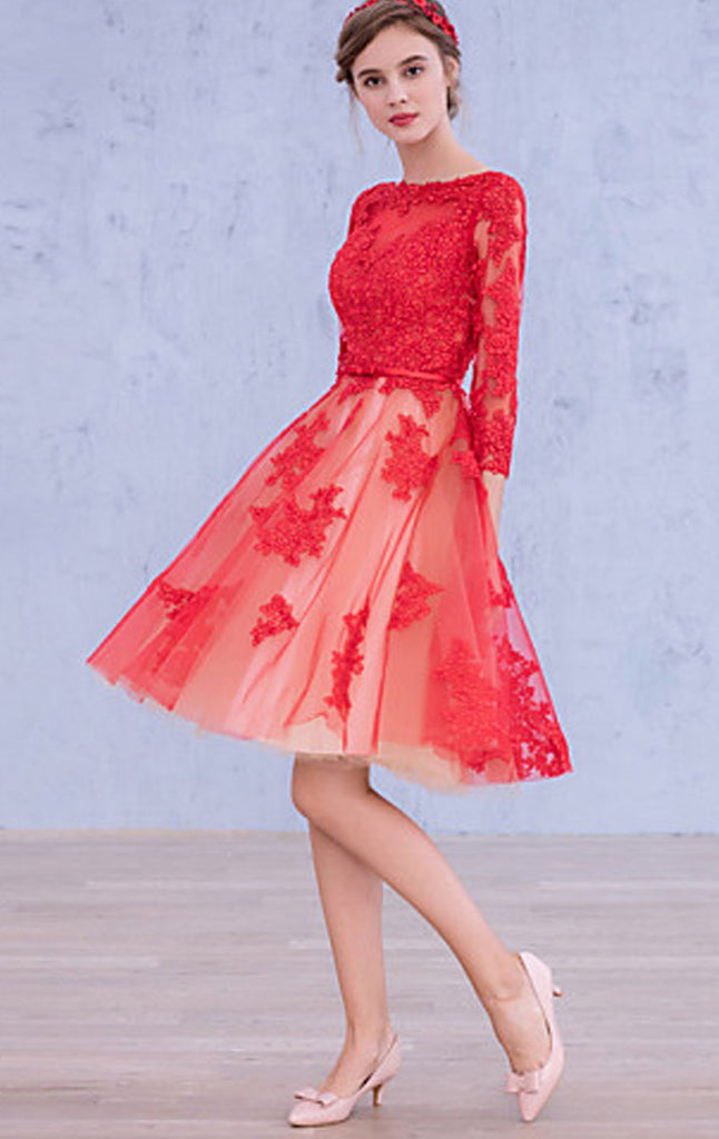 lace cocktail dresses for weddings
