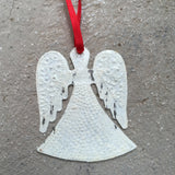 Steel Distressed Angel