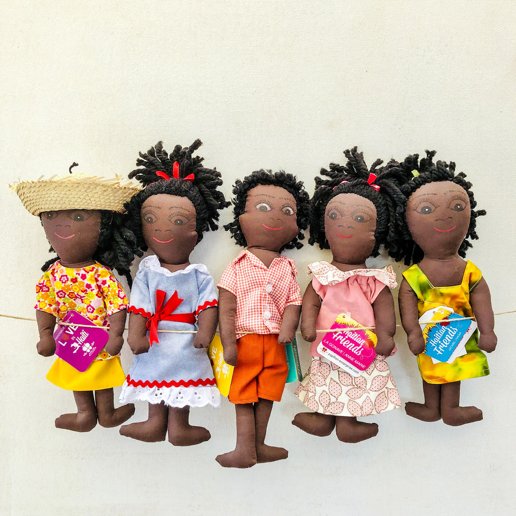 Haitian Friends Dolls (Set of 5)