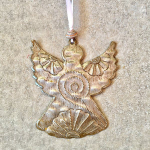Whimsical Angel Ornament