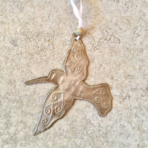Whimsical Hummingbird Ornament