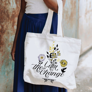 """I am the Change"" Canvas Tote Bag"