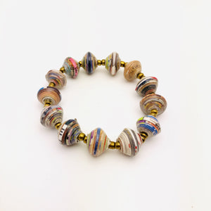 Cereal Box Bead Bracelets