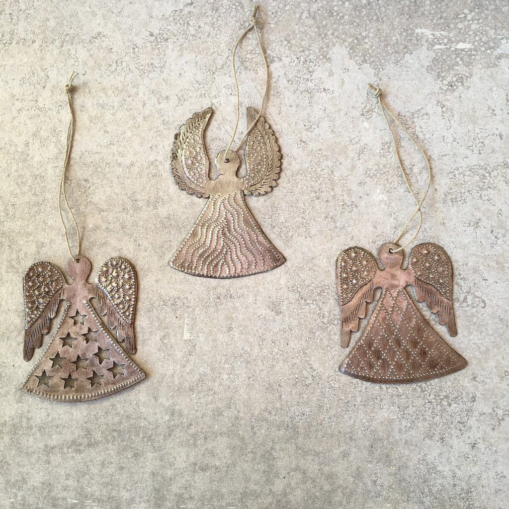 Set of 3 Angel Ornaments