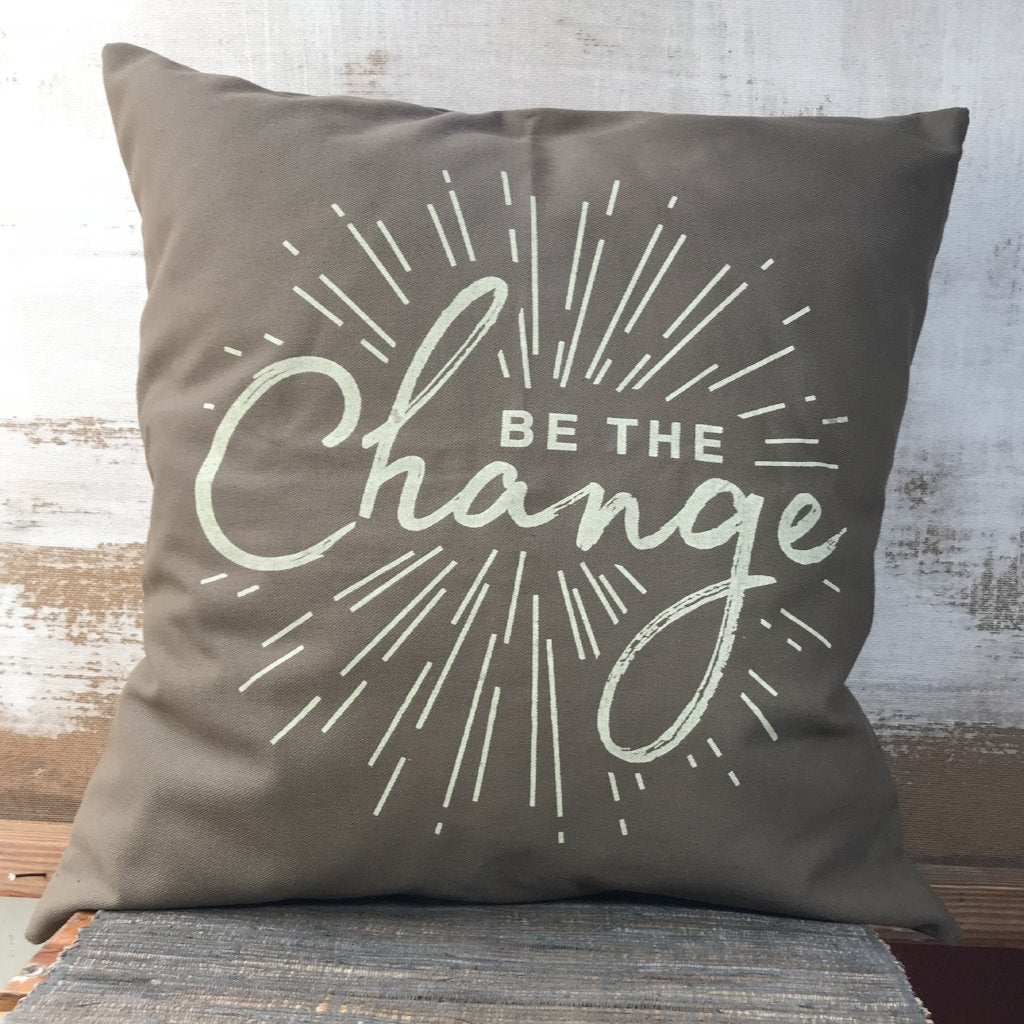 Be Inspired Pillow Cover