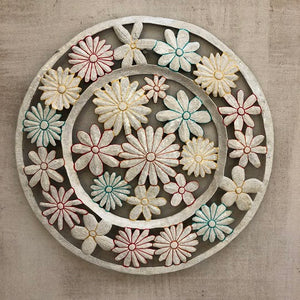 White Flower Tray