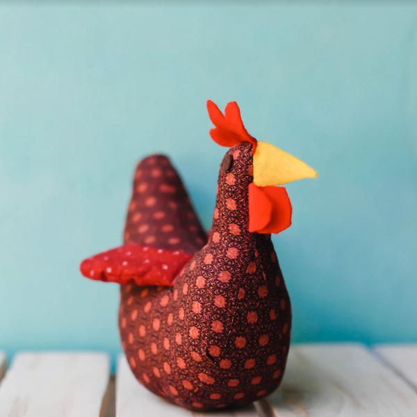 Stuffed Rooster
