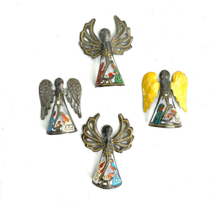 Small Nativity Angels (Set of 4)