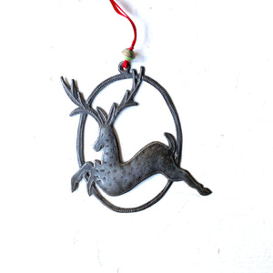 Dancing Reindeer Ornament