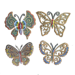 Painted Butterflies (Set of 4)