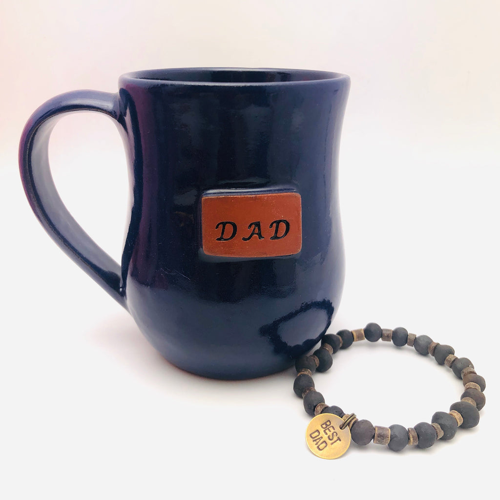 """Best Dad"" Men's Bracelet"