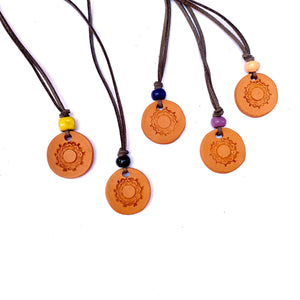 Aromatherapy Medallion Necklace