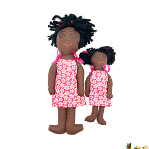 Mother- Daughter Haitian doll Set