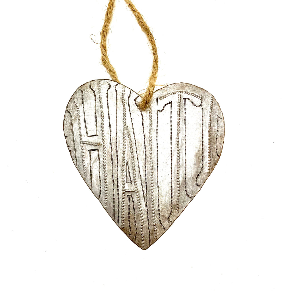 Haiti Heart Ornament