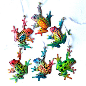 Frog Ornaments (Set of 6)