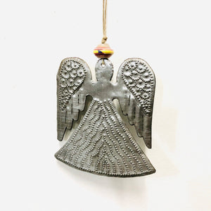 Steel Angel Ornament