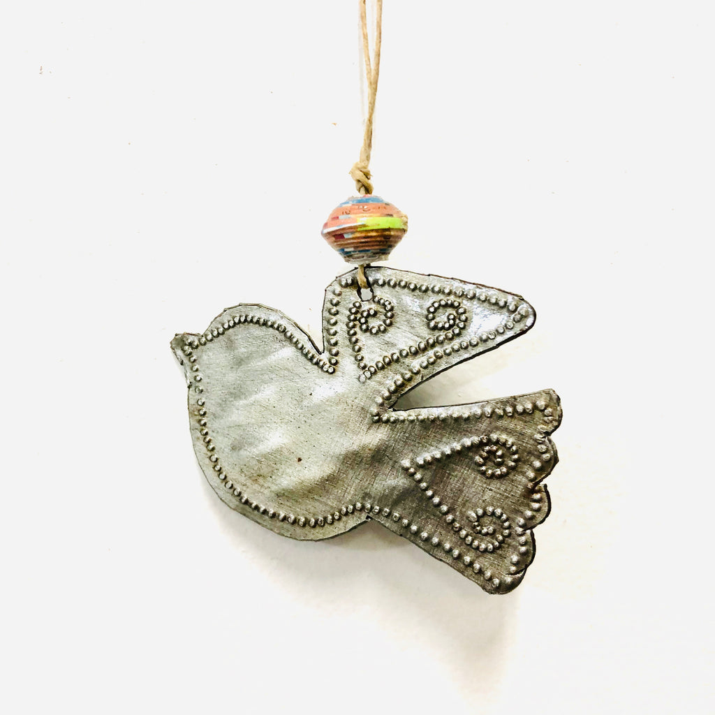 Small Whimsical Bird Ornament