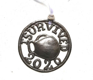 Round I Survived 2020 Ornament