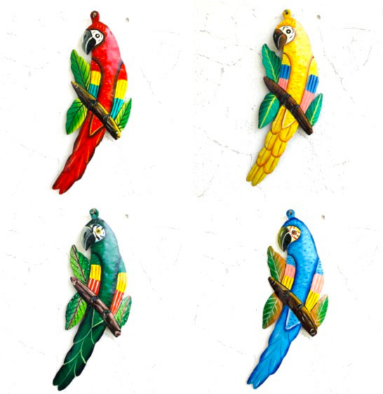 Tropical Bird (Set of 4)