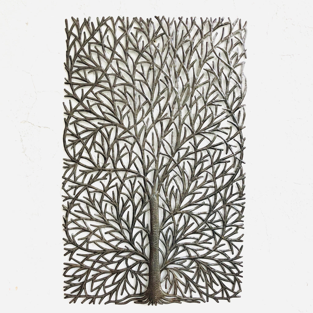 Large Rectangle Tree Statement Wall Hanging