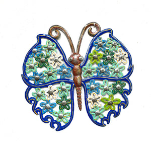 Butterfly- Blue and Green