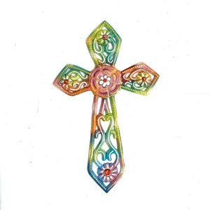 Tie Dyed Cross