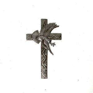 Dove Metal Cross